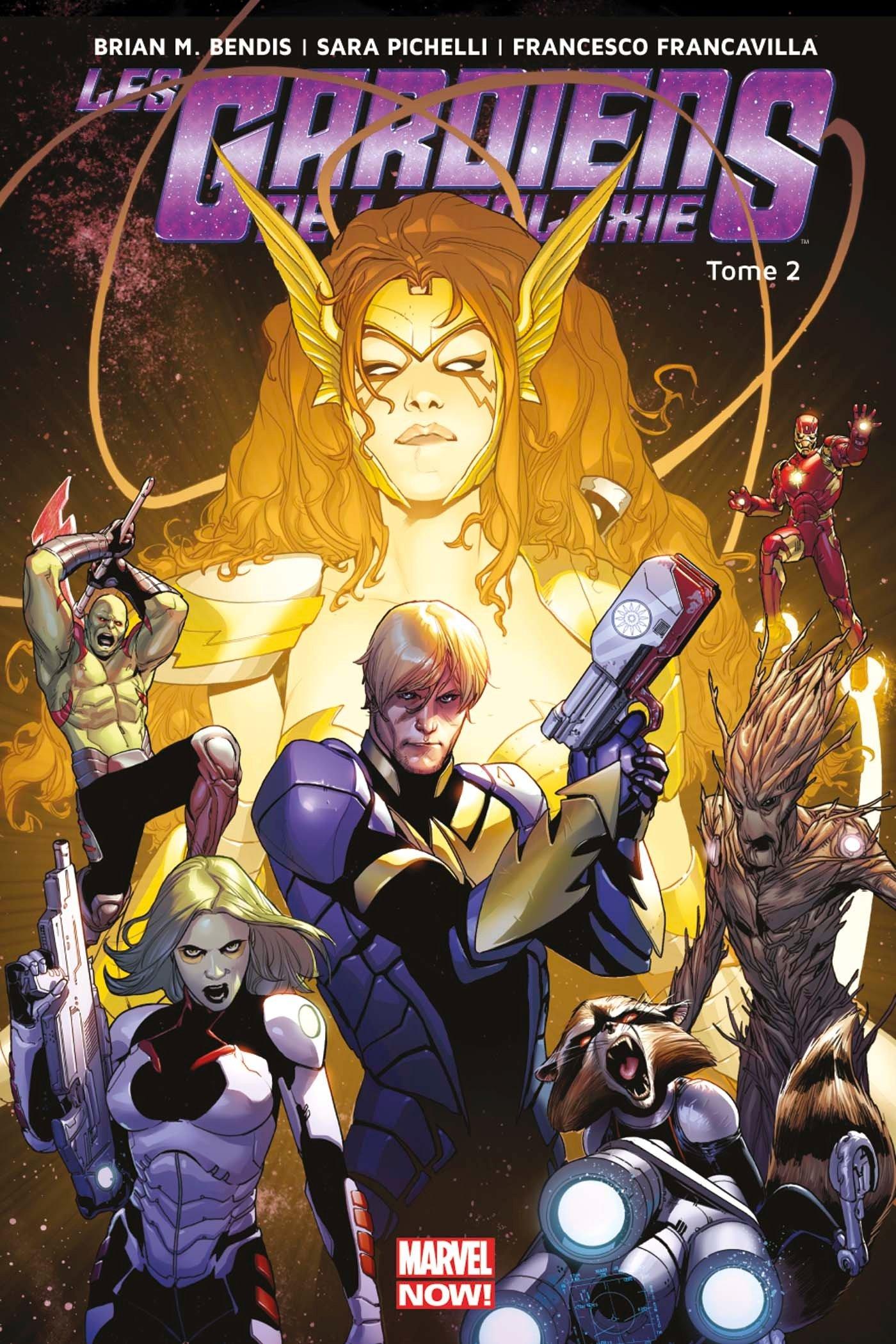 Amazon Fr Les Gardiens De La Galaxie Marvel Now T02 Bendis