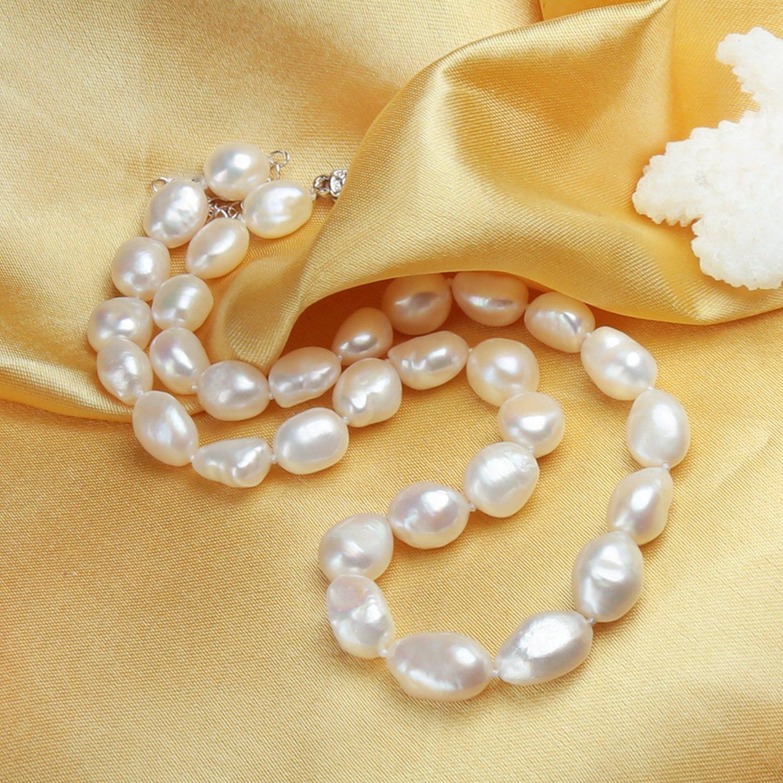 CS-DB Jewelry Silver Bohemian Charm Design Pearl Chain Charm Pendants Necklaces
