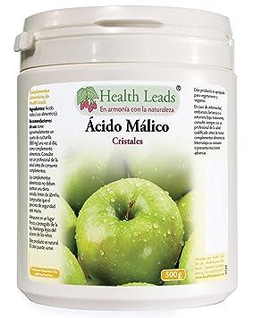 Ácido málico (uso alimenticio) 500 g: Amazon.es: Salud y cuidado personal