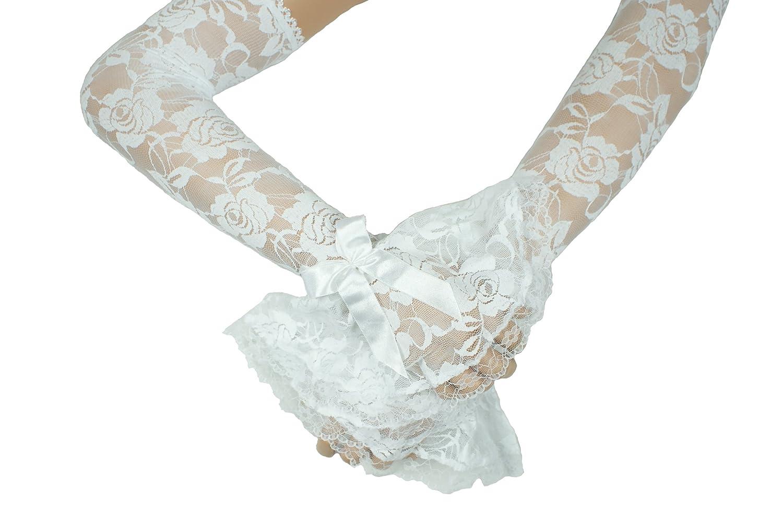 Hochzeit Victorian Ärmel weiß 50 cm Lange