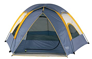 d7a68380aed Wenzel 36419 Alpine 8.5-by-8-foot Dome Tent (Light Grey Blue Gold ...