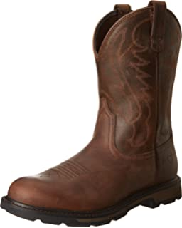 Amazon.com | Ariat Men's Workhog Pull-on H2O Work Boot ...