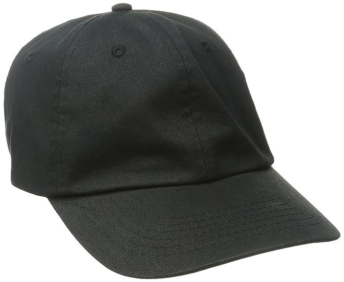 aa3f6ff436f Dorfman Pacific CO. Men s Washed Twill Cap with Precurve Brim (One ...
