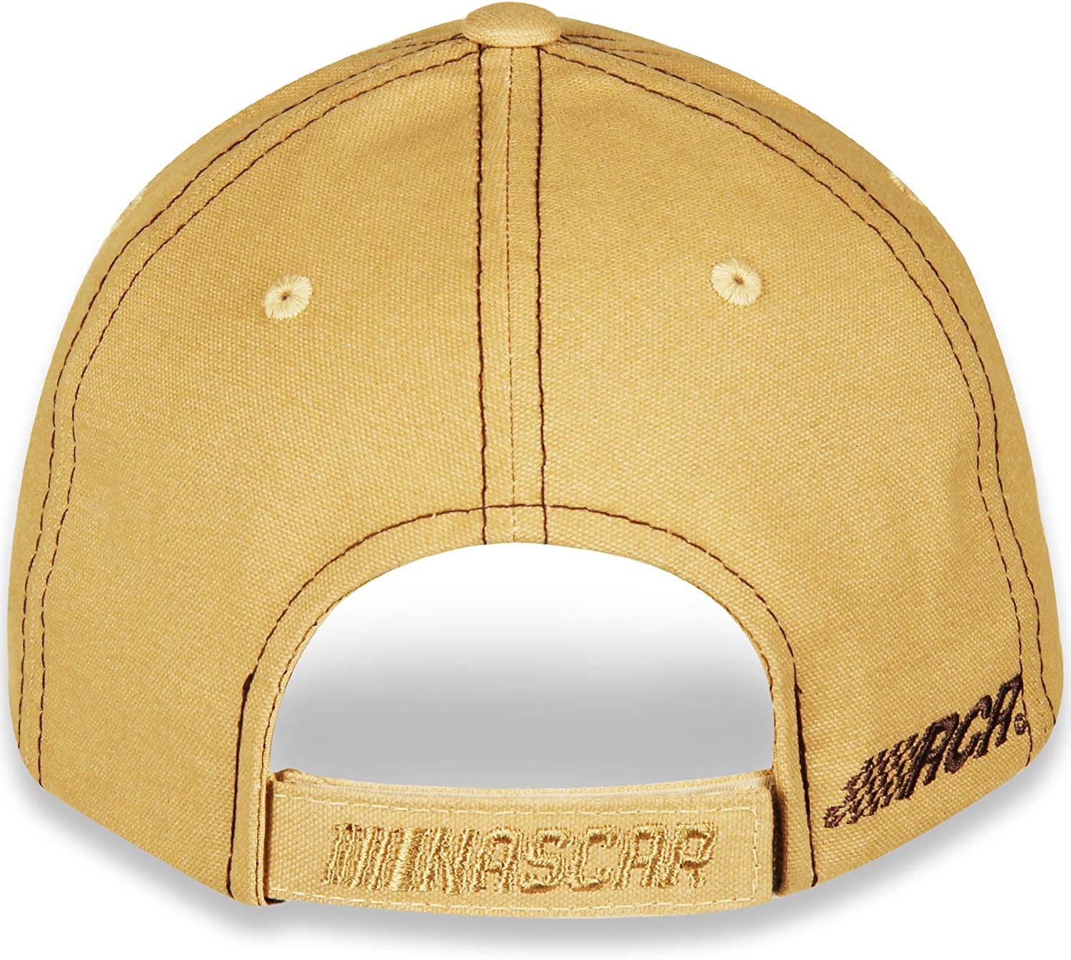 Gills-N-Game Dale Earnhardt Sr #3 Mustard Yellow Brushed Twill Hat//Cap with Velcro Closure