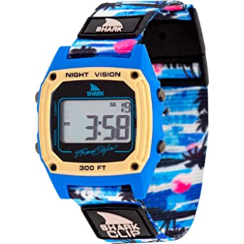 46c150ba3 Image Unavailable. Image not available for. Color: Freestyle Shark Classic  Clip Aloha Hawaiian Sunset Unisex Watch FS101035