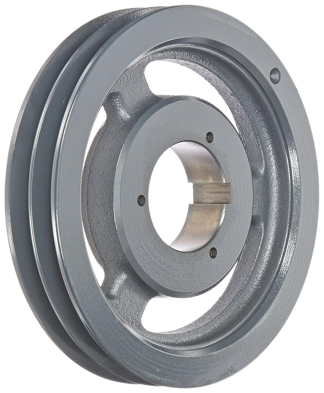 B or 5V Belt Uses Q1 Bushing Cast Iron A 6 Groove Browning 6B5V62 Split Taper Sheave
