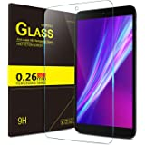 """IVSO Alcatel A30 Tablet 8"""" Tempered Glass Screen Protector with [Scratch-Resistant] [No-Bubble Easy Installation] for T-Mobile Alcatel Dubbed A30 8-inch Tablet Model 9024W 2017 Released(1pcs)"""
