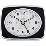 Acctim 13873 Retro 2 Reloj con alarma, color negro