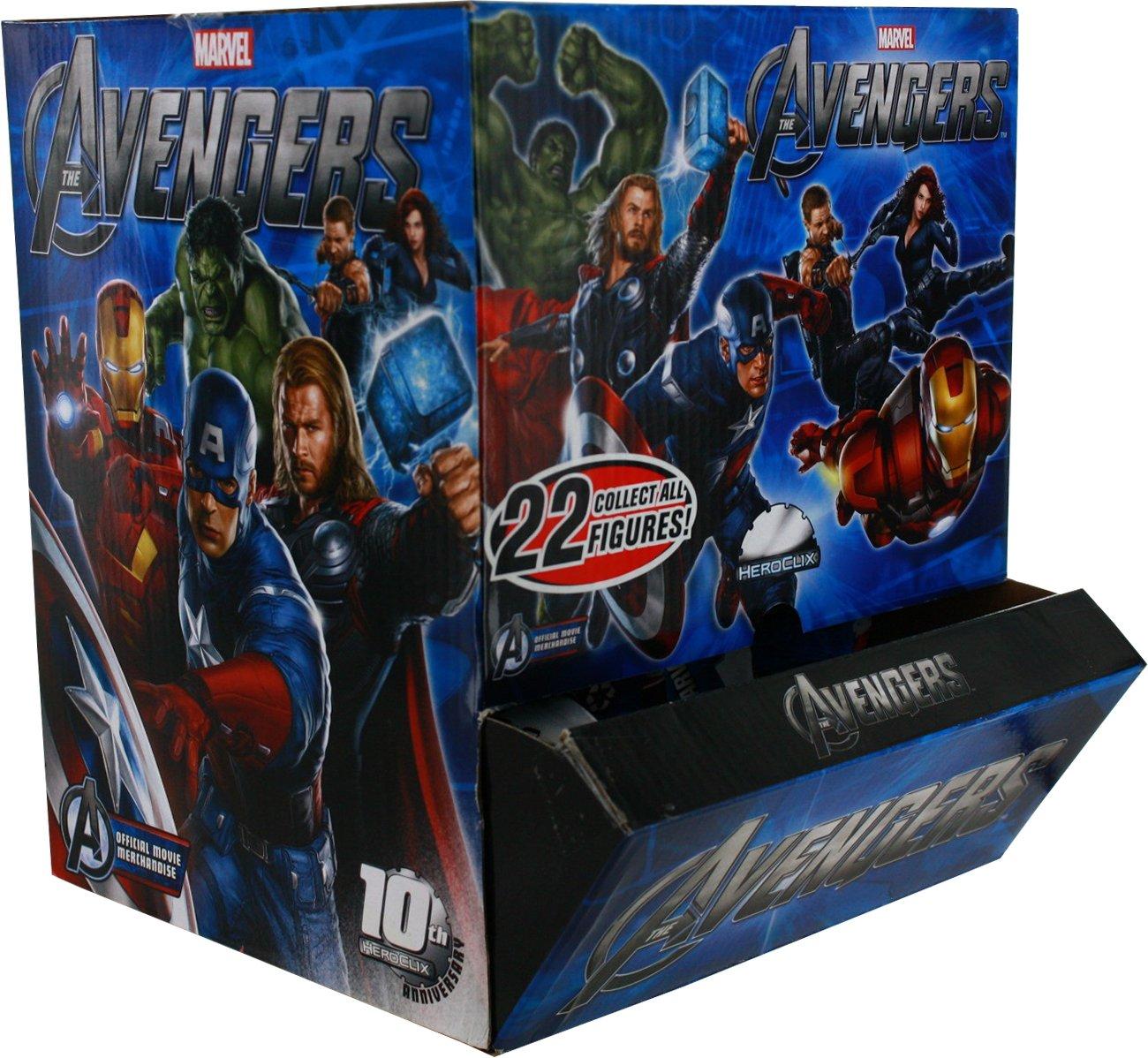 Marvel HeroClix: Avengers B008B98OGY Movie Counter Marvel Counter Top - Full Display B008B98OGY, 悪党の店 【卍】 バースジャパン:d83476cc --- 2017.goldenesbrett.net
