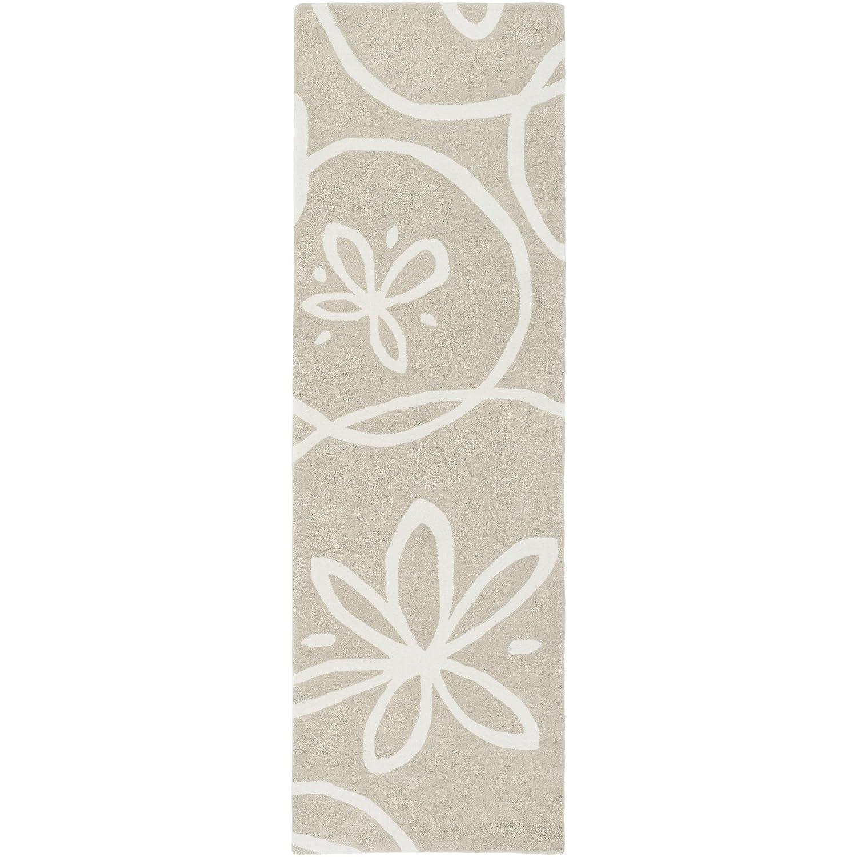 Kess InHouse Pellerina Design Spring Florals Blush Peony Decorative Sheer Curtain Set 30 x 84