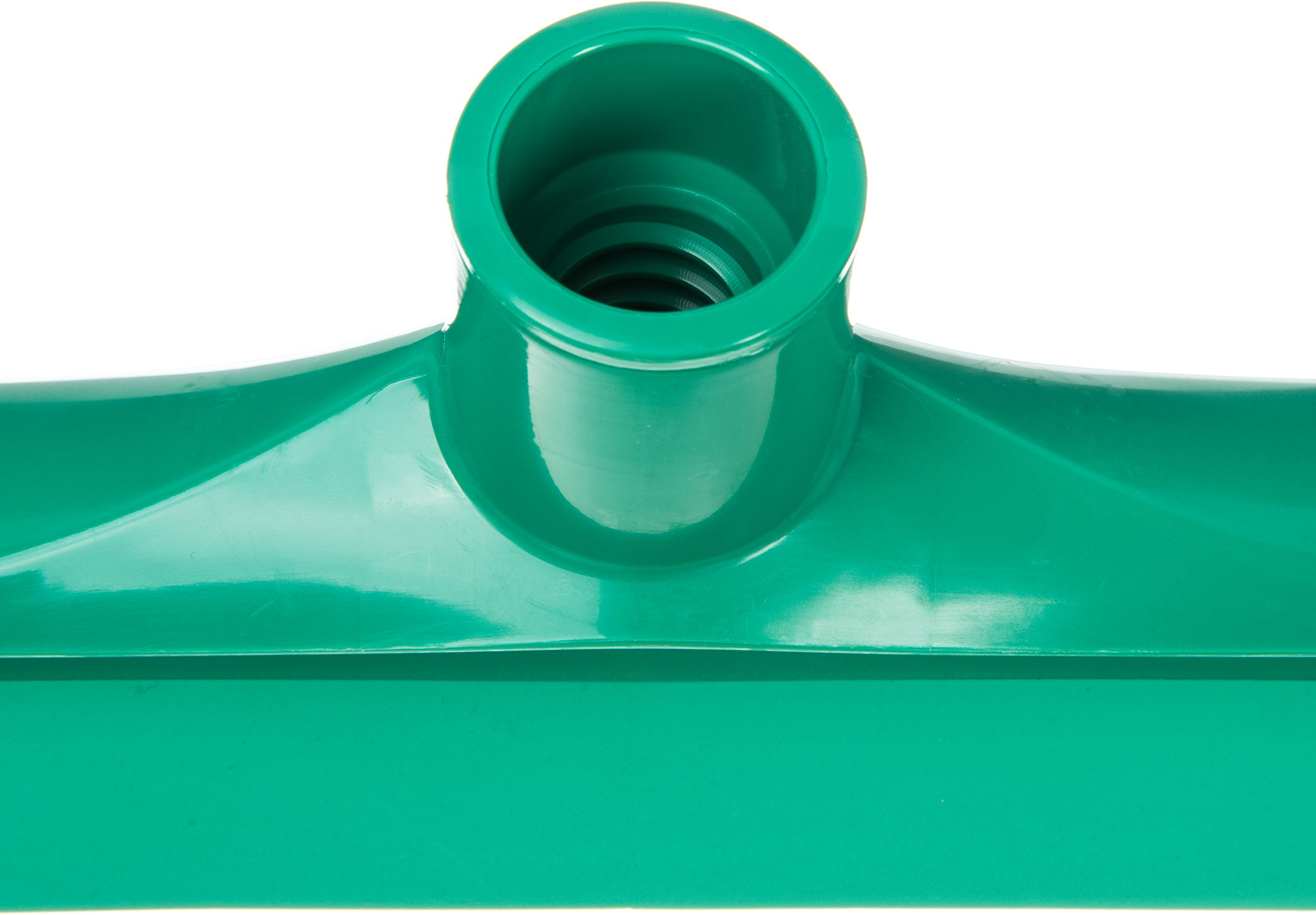 Carlisle 3656809 Solid One-Piece Foam Rubber Head Floor Squeegee, 24'' Length, Green by Carlisle (Image #5)