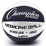 Champion Sports MB9 Exercise Medicine Balls, 9-10