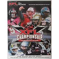 2001 XFL Championship Game - LA Extreme vs. San Francisco Demons Program 145667 photo