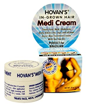 Bikini saver cream