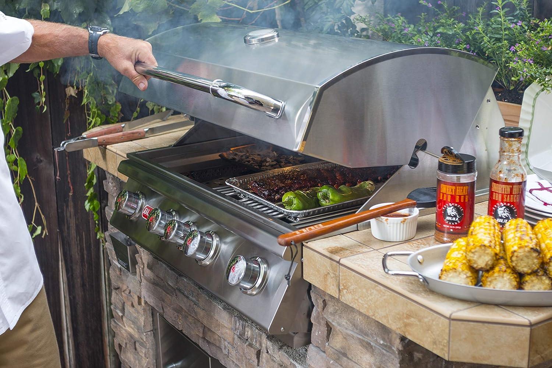 lion premium grill