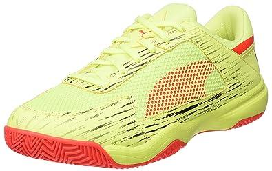 Puma Unisex-Erwachsene Evospeed Indoor NF Euro 5 Multisport Schuhe, Gelb (Fizzy Yellow-Red Blast Black), 44 EU