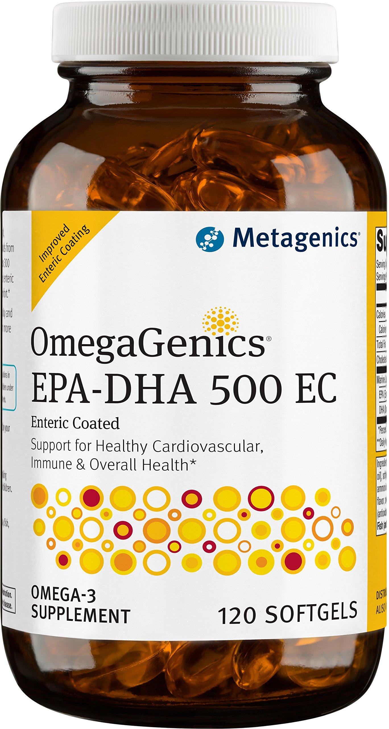 Metagenics - OmegaGenics EPA-DHA 500 EC, 120 Count