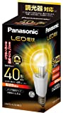 パナソニック LED電球 口金直径26mm 電球40W形相当 電球色相当(6.8W) 一般電球・クリアタイプ 調光器対応 LDA7LCDW2