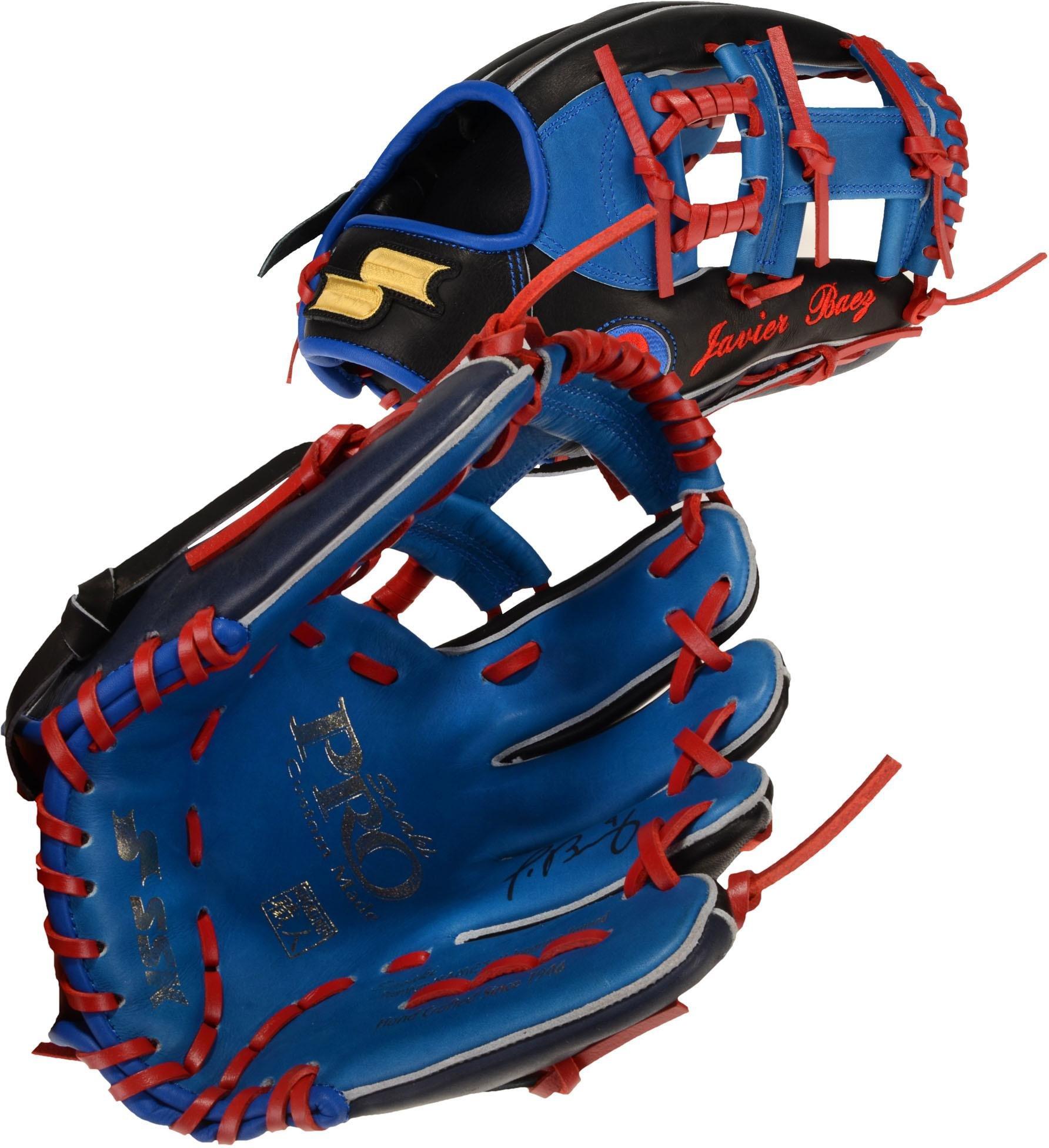 Javier Baez Chicago Cubs Autographed SSK Game Model Glove Fanatics Authentic Certified Autographed MLB Gloves