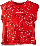 DKNY Girls Big Logo Placment Muscle Top