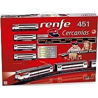 Pequetren 685 - Renfe Cercanías 451, circuito