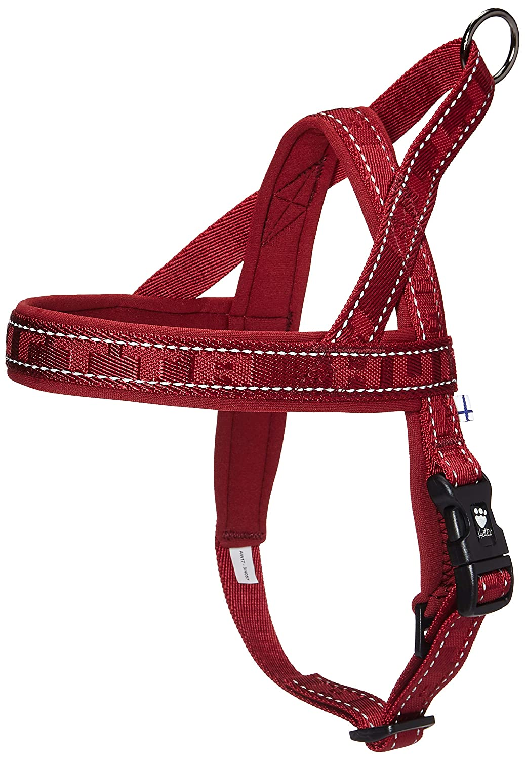 Lingon 1822 Hurtta Casual Padded Dog Harness, River, 28 in