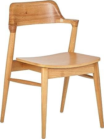 Rivet Mid-Century Modern Wood Dining Chair, 30\