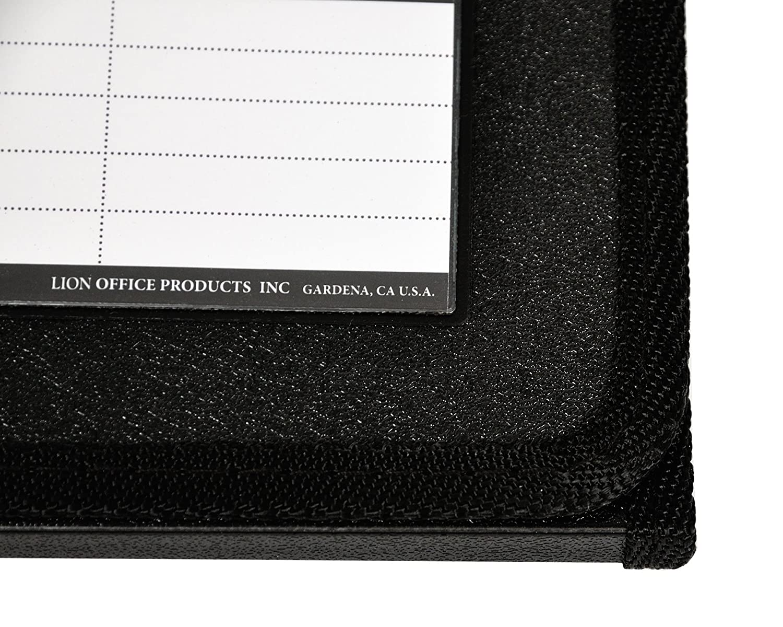 20-Pocket Horizontal Letter 1 Easel Display Book Lion Flip-N-Tell Display Book-N-Easel 39008-H