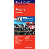 Rand McNally Maine State Map (Rand McNally Easy to Read!)