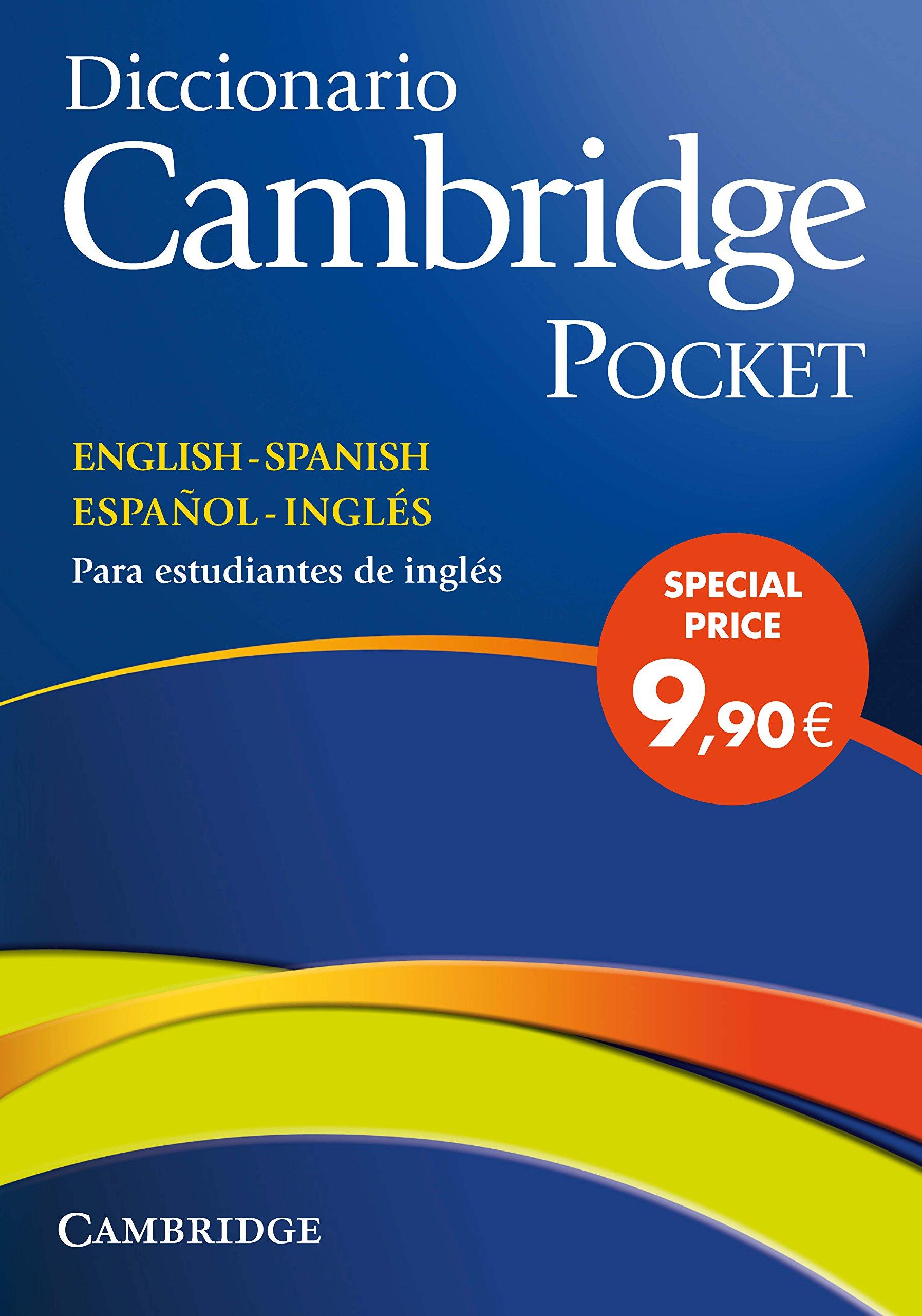 Diccionario Bilingue Cambridge Spanish-English Flexi-cover Pocket edition:  Amazon.es: VV.AA.: Libros en idiomas extranjeros
