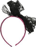 Forum Novelties Women's Adult 80's Neon Lace Headband Costume Accessory
