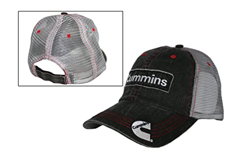 Amazon.com  Cummins Diesel Denim Mesh Cap Hat trucker  Sports   Outdoors 61169a9484b2