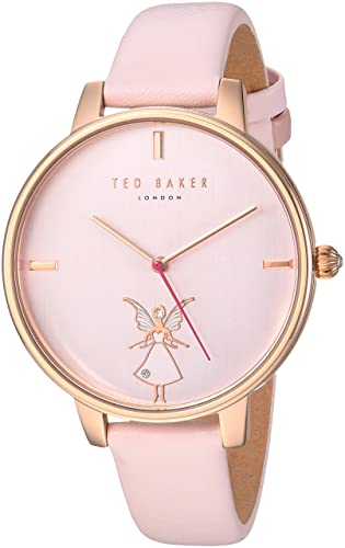 c178c88b0 Ted Baker Women s Analog Quartz Watch with Leather Strap TE15162004   Amazon.co.uk  Watches