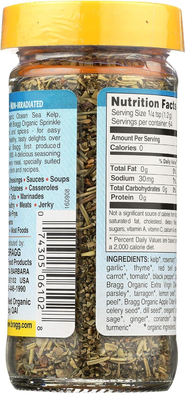 Bragg Organic Delight condimento con espray Bragg orgánico ...