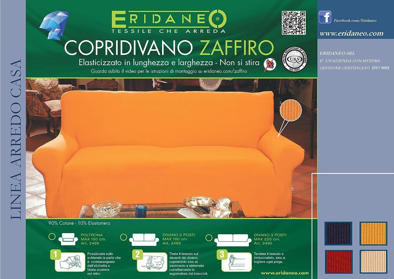 COPRIDIVANO 2 POSTI Zaffiro Elast.