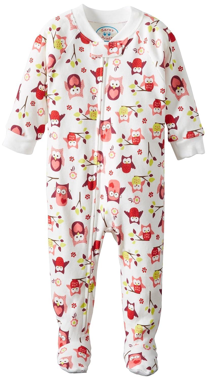 Saras Prints Unisex Baby Footed Pajama