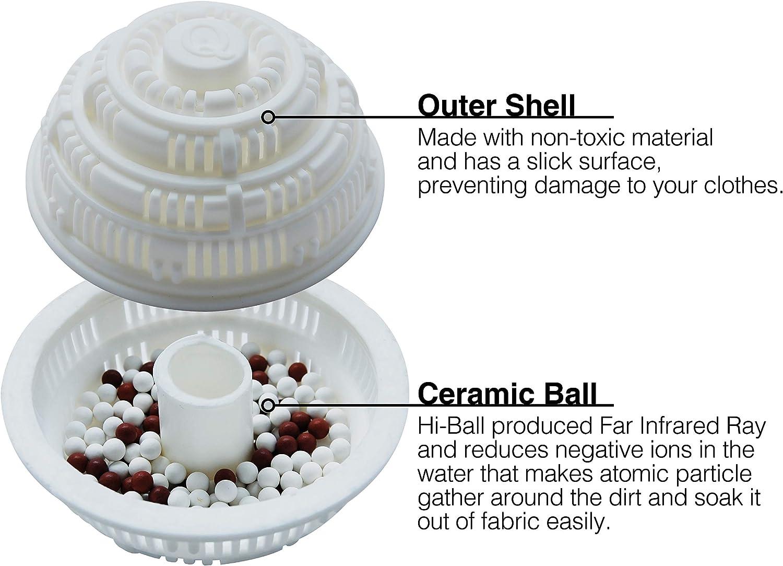 Eco Hi-Ball para lavadora – Bolas de lavandería para lavadora ...