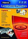 Fellowes 53963 - Pack de 25 fundas para plastificar, formato A4 (216 x 303 mm)