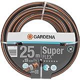 """GARDENA Premium SuperFLEX Schlauch 19mm (3/4""""), 25 m: Gartenschlauch mit Power-Grip-Profil, 35 bar Berstdruck, hochflexibel, formstabil, UV-beständig (18113-20)"""