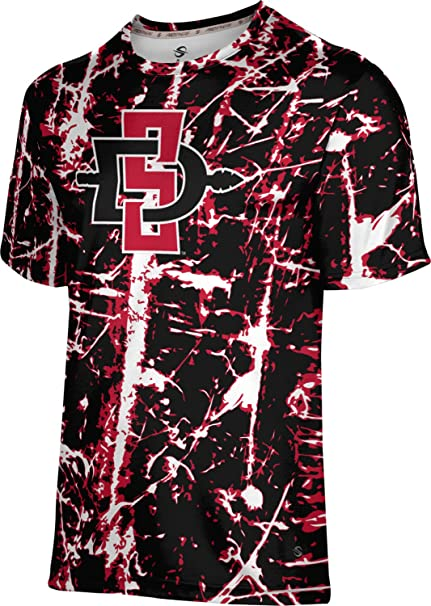 Distressed ProSphere San Diego State University Girls Performance T-Shirt