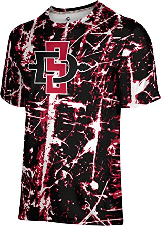 ProSphere San Diego State University Men's Performance T-Shirt (Distressed)
