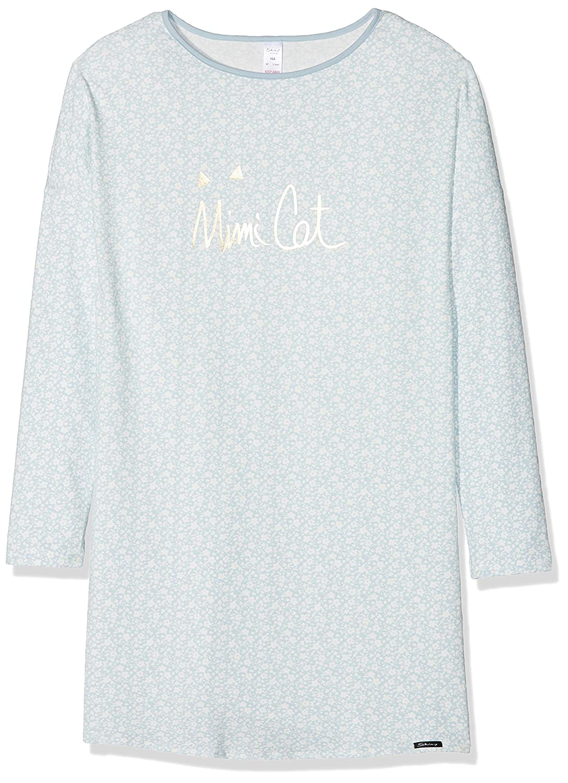 Skiny M/ädchen Nachthemd Lovely Dreams Sleep Girls Sleepshirt Langarm