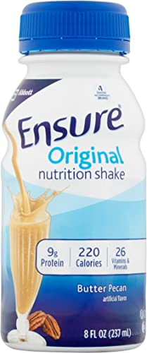 Ensure Original Nutrition Shake, Butter Pecan, 8 Ounces, 6 Count
