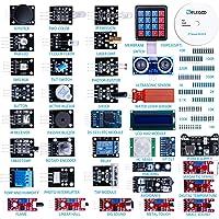 ELEGOO Kit DE 37-en-1 Module Capteur V2.0 avec CD Tutorial Complet et Accessible-Composants Electroniques Sensors Accessoire Education pour Raspberry Pi Débutants et Professionnels DIY