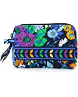 Vera Bradley Small Cosmetic in Midnight Blues