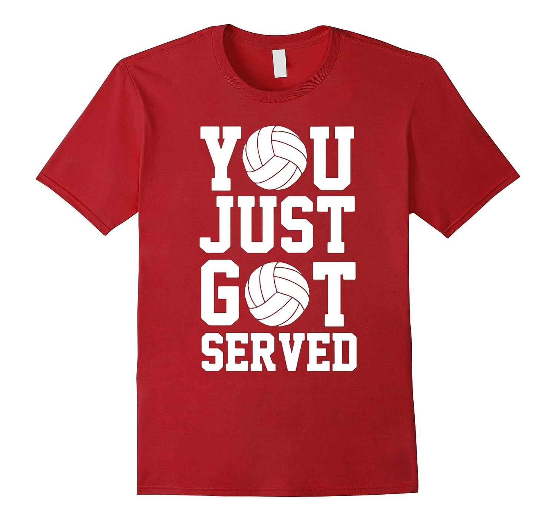 You Just Got Served Volleyball Shirt Premium-Art