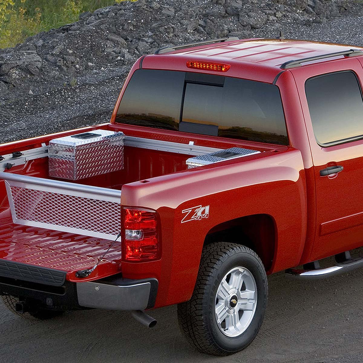 For 07-13 Chevy Silverado/GMC Sierra GMT900 High Mount Dual Row ...