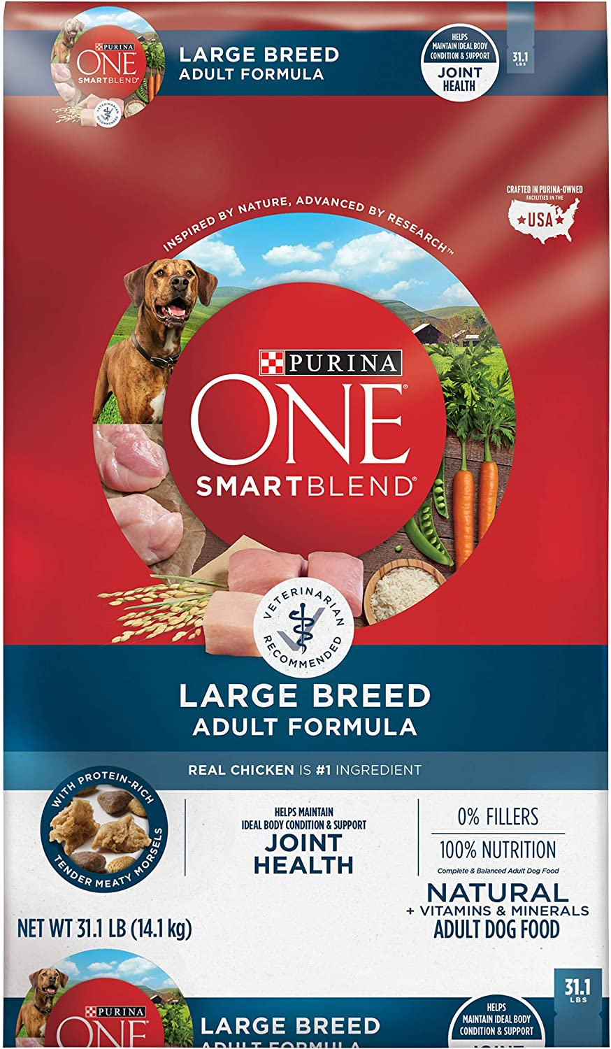 Purina ONE SmartBlend Natural Large Breed Formula Adult Dry Dog Food