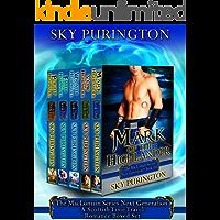The MacLomain Series- Next Generation (Books 1-5)- A Scottish Time Travel Romance Boxed Set