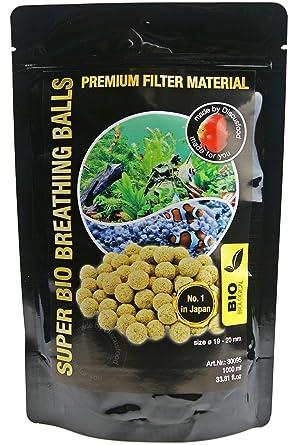 Bio Bolas Material Filtrante Acuario 1L - Super Bio Breathing Balls Discusfood